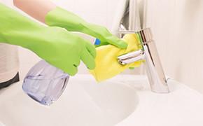 Vollzeit reinigungskraft